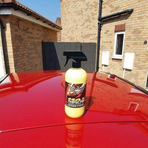 Pulimento coche spray